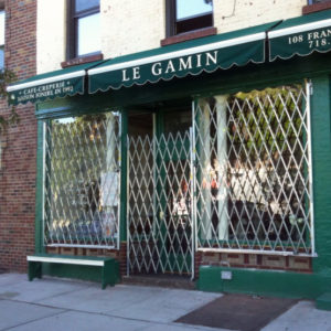 Coffee Shop Window Gate Expanded