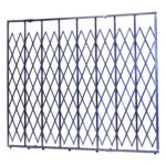Illinois Engineered Products, IEP, Hybrid Gate, Folding Security Gates, Safe, Secure, Gate, Folding Gate, Security, Safety, Extra Heavy Duty, Xtra Heavy Duty, Heavy-Duty, Loss Prevention, Storefront, Store front