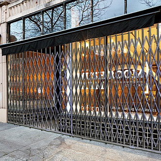 STOREFRONT SECURITY GATES