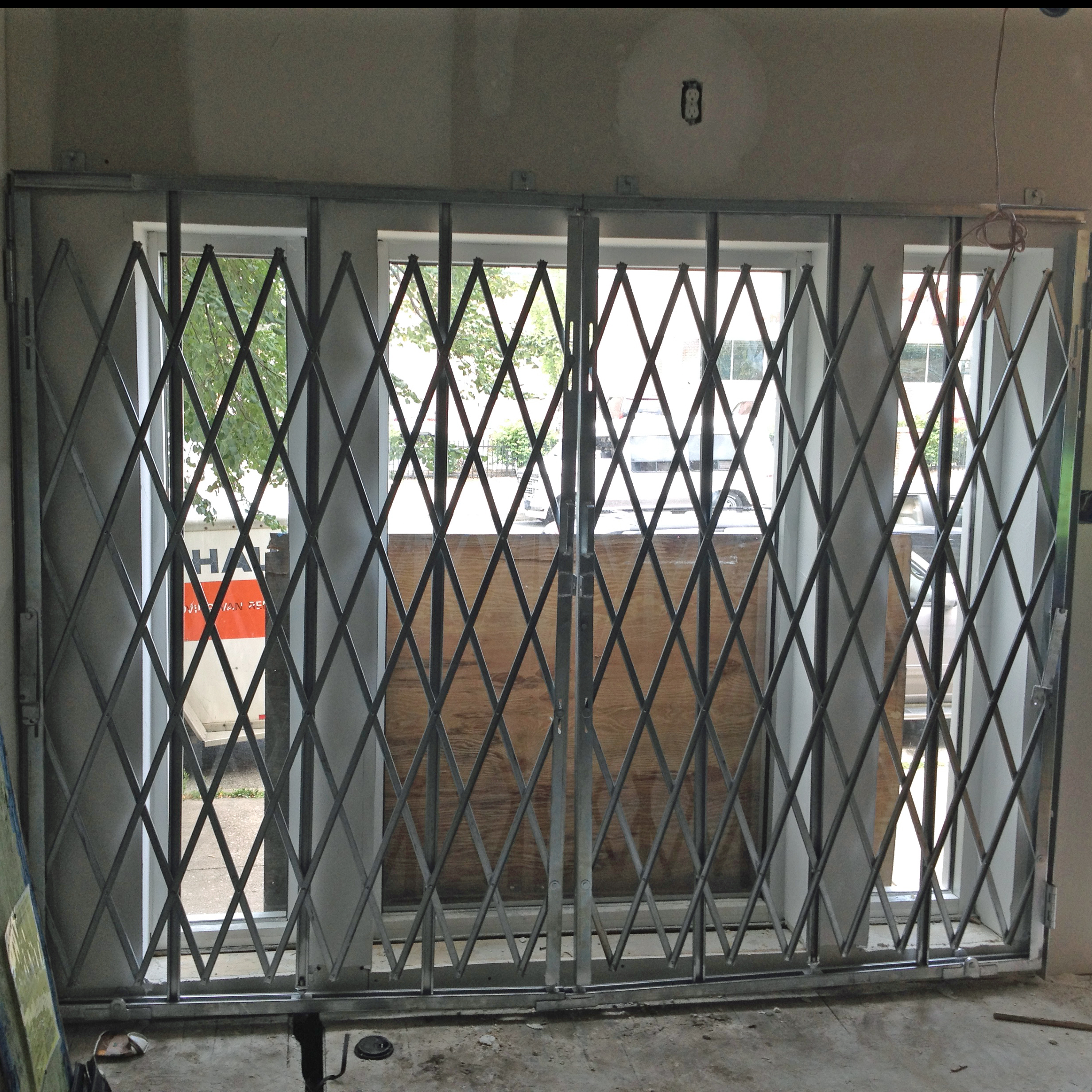 Hybrid Security Gates Illinois Engineered Products