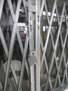 Heavy Duty Pair Gate Locked