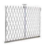 Illinois Engineered Products, IEP, Scissor Gate, Lazy Tong, Bottom Track, Bottom Guide, Folding Security Gates, Safe, Secure, Gate, Folding Gate, Security, Safety