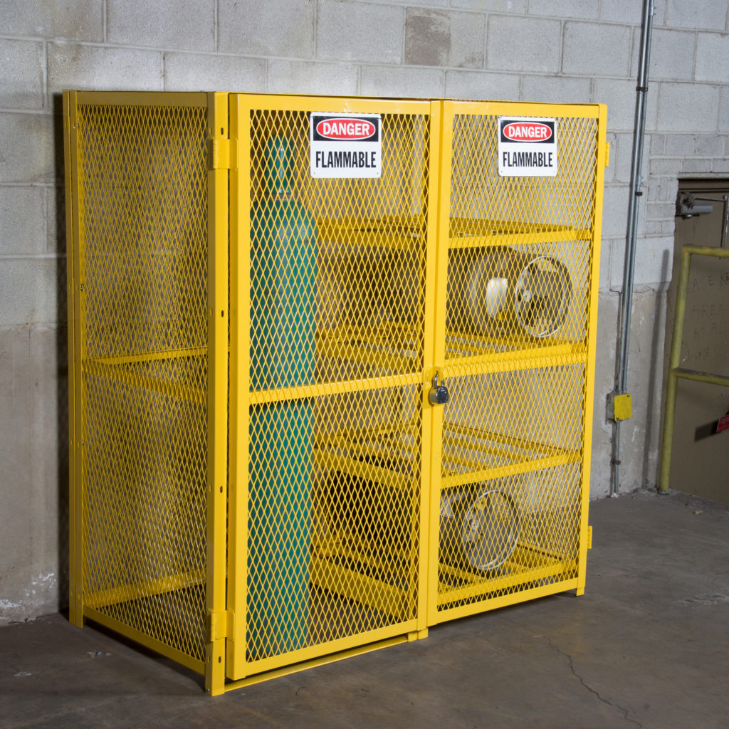 NEW! SAF-T-GAS™ CABINET