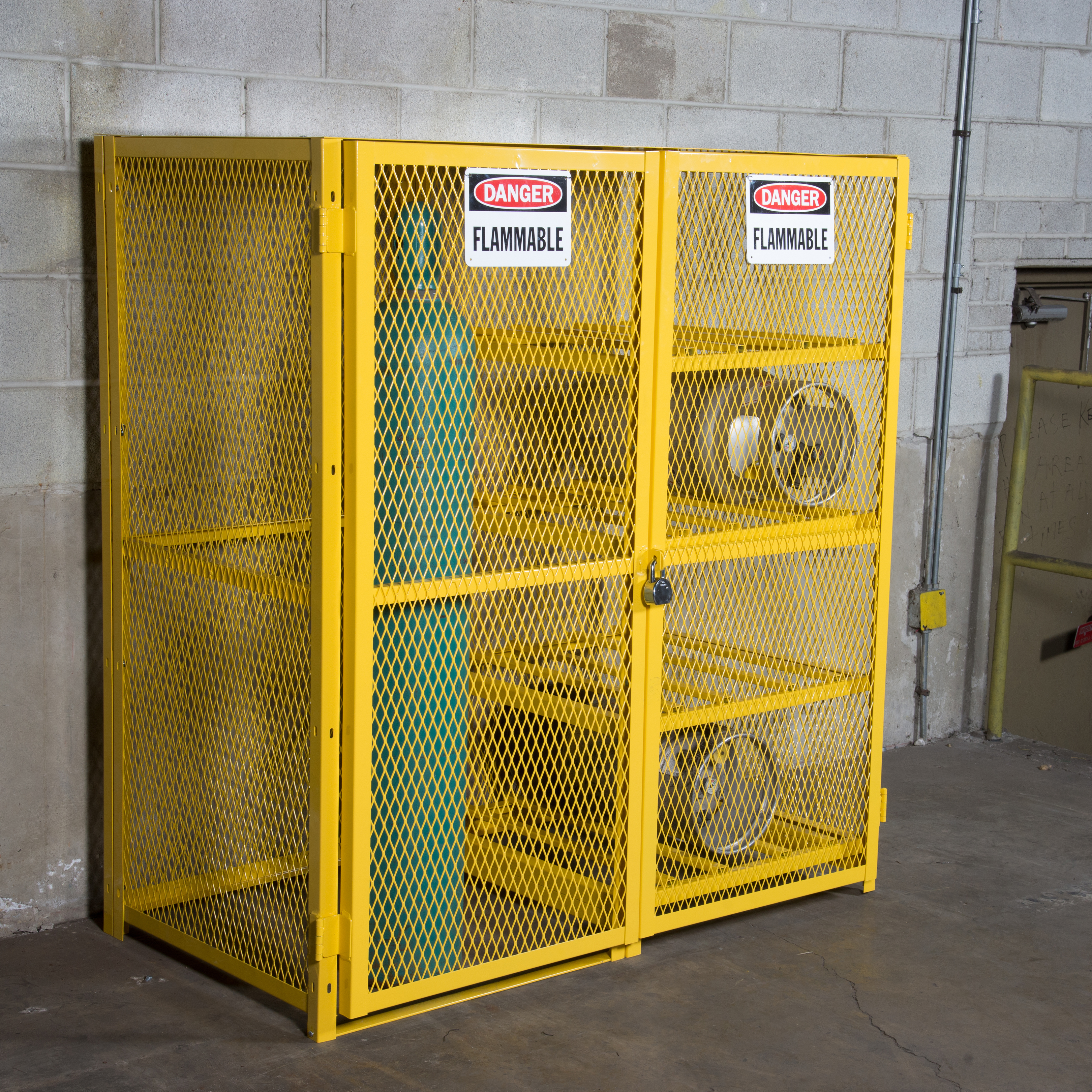 NEW Product: Saf T Gas™ Cabinet